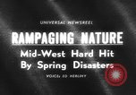 Image of tornado and flood United States USA, 1965, second 1 stock footage video 65675046628