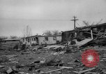 Image of tornado and flood United States USA, 1965, second 7 stock footage video 65675046628