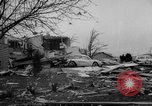 Image of tornado and flood United States USA, 1965, second 29 stock footage video 65675046628