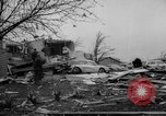 Image of tornado and flood United States USA, 1965, second 30 stock footage video 65675046628