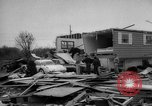 Image of tornado and flood United States USA, 1965, second 31 stock footage video 65675046628