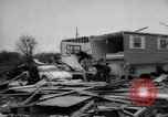 Image of tornado and flood United States USA, 1965, second 32 stock footage video 65675046628