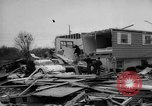 Image of tornado and flood United States USA, 1965, second 33 stock footage video 65675046628