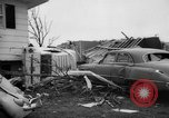 Image of tornado and flood United States USA, 1965, second 40 stock footage video 65675046628