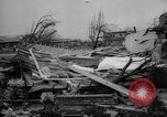 Image of tornado and flood United States USA, 1965, second 62 stock footage video 65675046628