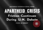 Image of apartheid crisis South Africa, 1960, second 2 stock footage video 65675046752