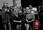 Image of collaborationist girls Menton France, 1944, second 17 stock footage video 65675048352