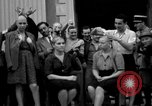 Image of collaborationist girls Menton France, 1944, second 21 stock footage video 65675048352