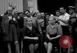 Image of collaborationist girls Menton France, 1944, second 23 stock footage video 65675048352