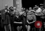 Image of collaborationist girls Menton France, 1944, second 30 stock footage video 65675048352