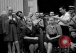 Image of collaborationist girls Menton France, 1944, second 32 stock footage video 65675048352