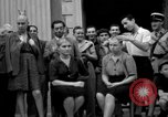 Image of collaborationist girls Menton France, 1944, second 33 stock footage video 65675048352