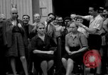 Image of collaborationist girls Menton France, 1944, second 37 stock footage video 65675048352