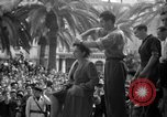 Image of collaborationist girls Menton France, 1944, second 46 stock footage video 65675048352
