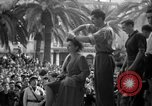 Image of collaborationist girls Menton France, 1944, second 47 stock footage video 65675048352
