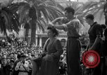 Image of collaborationist girls Menton France, 1944, second 48 stock footage video 65675048352