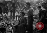 Image of collaborationist girls Menton France, 1944, second 54 stock footage video 65675048352