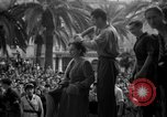 Image of collaborationist girls Menton France, 1944, second 55 stock footage video 65675048352
