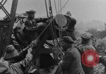 Image of British Royal Marines firing 15 inch howitzer France, 1916, second 48 stock footage video 65675048366