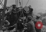 Image of British Royal Marines firing 15 inch howitzer France, 1916, second 49 stock footage video 65675048366