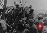 Image of British Royal Marines firing 15 inch howitzer France, 1916, second 50 stock footage video 65675048366