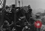 Image of British Royal Marines firing 15 inch howitzer France, 1916, second 52 stock footage video 65675048366