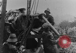 Image of British Royal Marines firing 15 inch howitzer France, 1916, second 57 stock footage video 65675048366