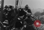 Image of British Royal Marines firing 15 inch howitzer France, 1916, second 58 stock footage video 65675048366