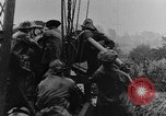 Image of British Royal Marines firing 15 inch howitzer France, 1916, second 59 stock footage video 65675048366