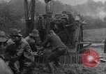 Image of British Royal Marines firing 15 inch howitzer France, 1916, second 60 stock footage video 65675048366