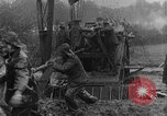 Image of British Royal Marines firing 15 inch howitzer France, 1916, second 61 stock footage video 65675048366