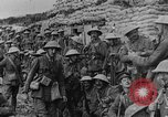 Image of British soldiers attack from their trenches France, 1916, second 54 stock footage video 65675048367