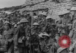Image of British soldiers attack from their trenches France, 1916, second 55 stock footage video 65675048367