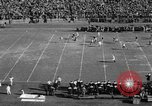 Image of Football game of Carnegie Mellon versus Pittsburgh Pittsburgh Pennsylvania USA, 1938, second 17 stock footage video 65675049467