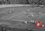 Image of Football game of Carnegie Mellon versus Pittsburgh Pittsburgh Pennsylvania USA, 1938, second 23 stock footage video 65675049467