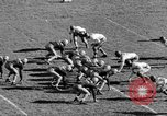 Image of Football game of Carnegie Mellon versus Pittsburgh Pittsburgh Pennsylvania USA, 1938, second 25 stock footage video 65675049467