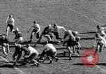 Image of Football game of Carnegie Mellon versus Pittsburgh Pittsburgh Pennsylvania USA, 1938, second 27 stock footage video 65675049467