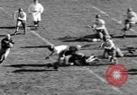 Image of Football game of Carnegie Mellon versus Pittsburgh Pittsburgh Pennsylvania USA, 1938, second 28 stock footage video 65675049467