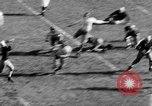 Image of Football game of Carnegie Mellon versus Pittsburgh Pittsburgh Pennsylvania USA, 1938, second 29 stock footage video 65675049467