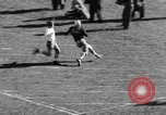 Image of Football game of Carnegie Mellon versus Pittsburgh Pittsburgh Pennsylvania USA, 1938, second 32 stock footage video 65675049467