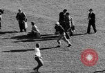 Image of Football game of Carnegie Mellon versus Pittsburgh Pittsburgh Pennsylvania USA, 1938, second 34 stock footage video 65675049467