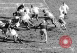 Image of Football game of Carnegie Mellon versus Pittsburgh Pittsburgh Pennsylvania USA, 1938, second 37 stock footage video 65675049467