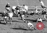 Image of Football game of Carnegie Mellon versus Pittsburgh Pittsburgh Pennsylvania USA, 1938, second 38 stock footage video 65675049467
