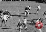 Image of Football game of Carnegie Mellon versus Pittsburgh Pittsburgh Pennsylvania USA, 1938, second 40 stock footage video 65675049467