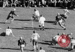 Image of Football game of Carnegie Mellon versus Pittsburgh Pittsburgh Pennsylvania USA, 1938, second 41 stock footage video 65675049467
