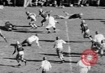 Image of Football game of Carnegie Mellon versus Pittsburgh Pittsburgh Pennsylvania USA, 1938, second 42 stock footage video 65675049467
