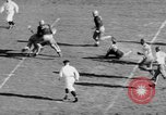 Image of Football game of Carnegie Mellon versus Pittsburgh Pittsburgh Pennsylvania USA, 1938, second 45 stock footage video 65675049467