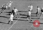 Image of Football game of Carnegie Mellon versus Pittsburgh Pittsburgh Pennsylvania USA, 1938, second 46 stock footage video 65675049467