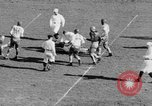 Image of Football game of Carnegie Mellon versus Pittsburgh Pittsburgh Pennsylvania USA, 1938, second 47 stock footage video 65675049467