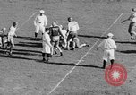 Image of Football game of Carnegie Mellon versus Pittsburgh Pittsburgh Pennsylvania USA, 1938, second 48 stock footage video 65675049467